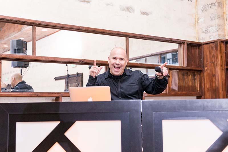 San Antonio DJ and master of ceromonies